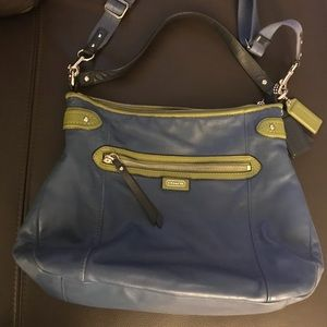 Coach Bags - Coach leather hobo bag